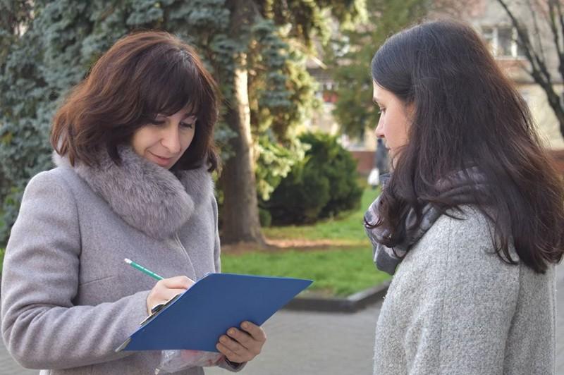 У Ковелі провели експрес-опитування серед мешканців міста з питань обізнаності щодо ВІЛ/СНІДу