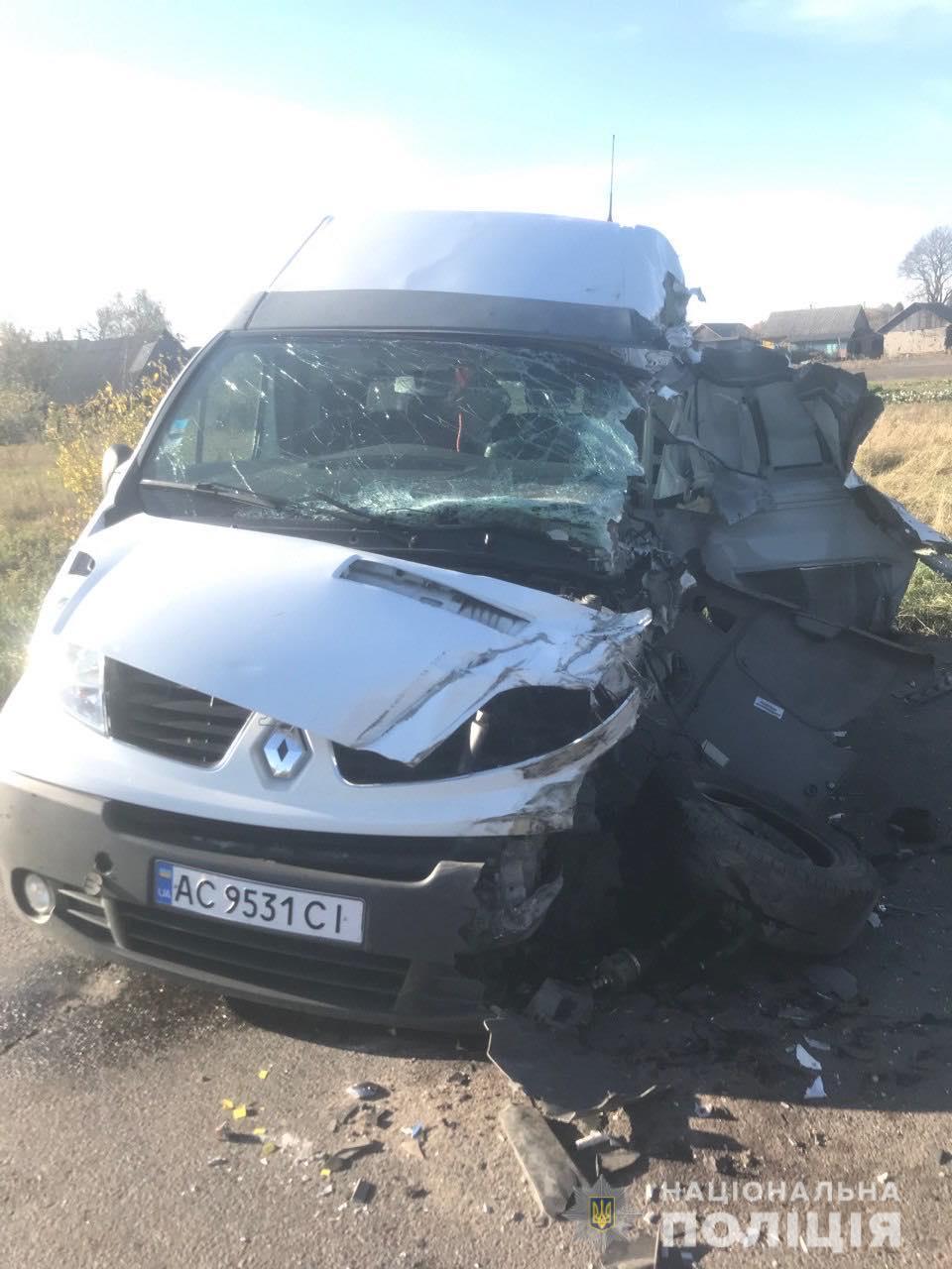ДТП у Ковельському районі: травмувався 49-річний водій