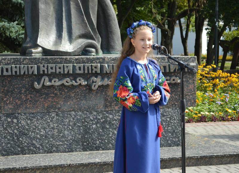 Ковельчанки — переможці та призери обласного конкурсу юних читців поезії Тараса Шевченка