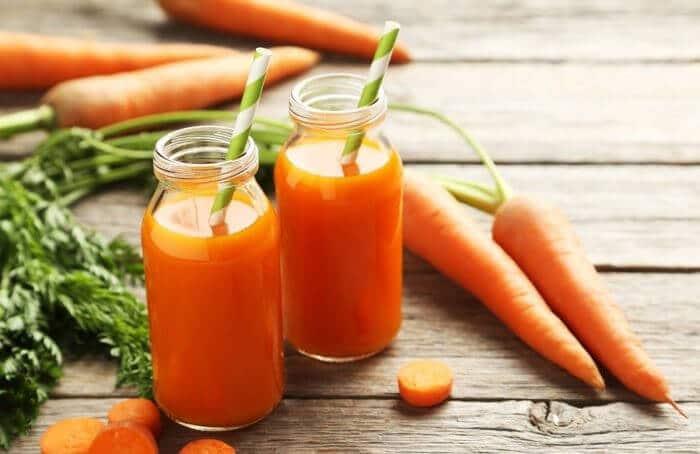 Морквяний сік. Користь