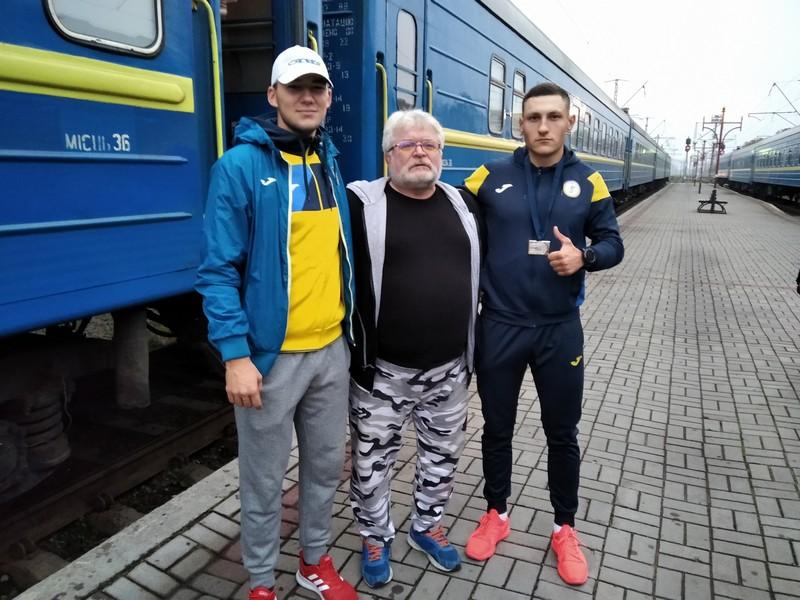 У Ковелі зустріли срібного призера чемпіонату Європи з параакадемічного веслування