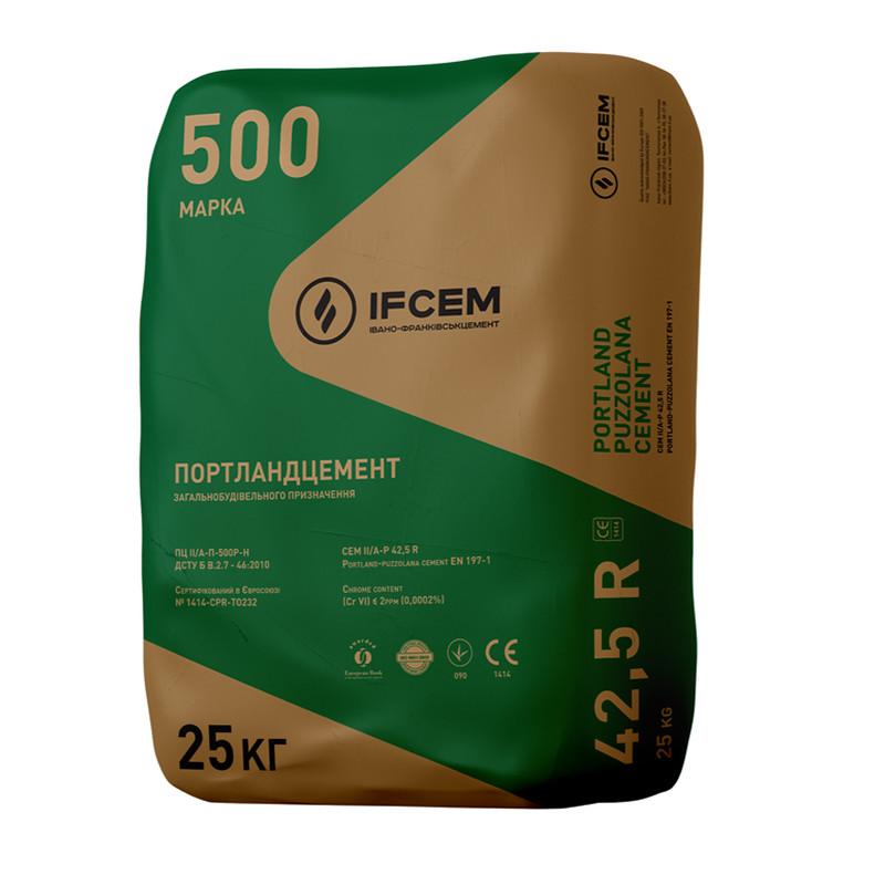 Цемент IFCEM, Івано-Франківськ,  25 кг