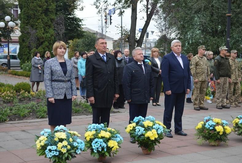 У Ковелі відзначили День захисника України. ФОТО