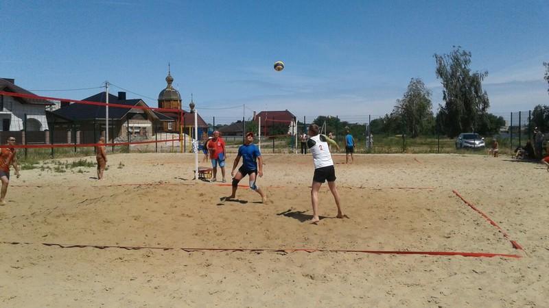 У Ковелі провели змагання з пляжного волейболу