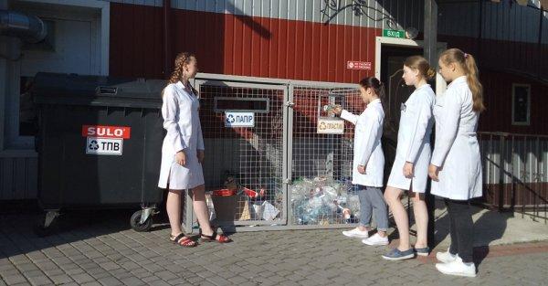 У Ковельському медколеджі розпочали сортувати сміття